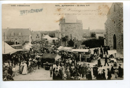 CPA Rotheneuf Place Marché - Rotheneuf