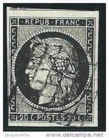 France  Yvert      3                O               Oblitéré  /  Gebruikt - 1849-1850 Ceres