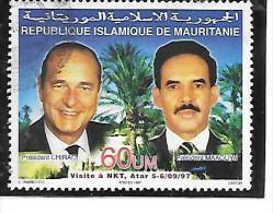 TIMBRE OBLITERE N° MICHEL A 1048 - Mauritania (1960-...)