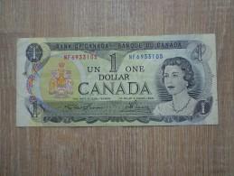 BILLET UN DOLLAR CANADA 1973 - Canada