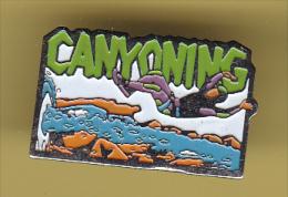 48437-Pin's.Canyoning. . - Canoë