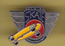 48445-Pin's.Eagle Skate Board. - Skateboard