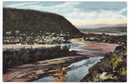 Mouth Of Klondyke (Klondike) River Near Dawson Yukon Canada, Gold Rush Area, View Of Town C1900s Postcard - Yukon