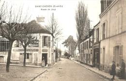 SAINT CHERON ROUTE JOUY LA PLACE LE RESTAURANT LA PATRONNE ET SON CHIEN EDITEUR BOUGARDIER A DOURDAN - Saint Cheron