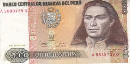 0046 BILLETE  PERU - Perú