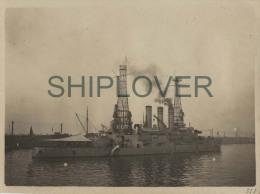 croiseur USS OHIO (US Navy) - photo authentique des ann�es 10s voire avant - bateau/ship/schiffe
