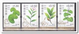 Hong Kong 2001, Postfris MNH, Flowers - 1997-... Speciale Bestuurlijke Regio Van China