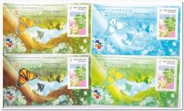 Hong Kong 2001, Postfris MNH, Trees, Butterflies - 1997-... Speciale Bestuurlijke Regio Van China