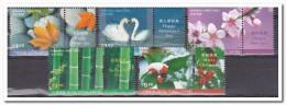 Hong Kong 2001, Postfris MNH, Flowers, Plants, Swans - 1997-... Speciale Bestuurlijke Regio Van China