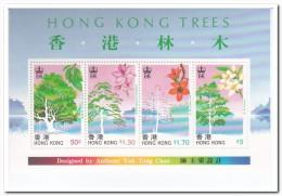 Hong Kong 2001, Postfris MNH, Trees - 1997-... Speciale Bestuurlijke Regio Van China