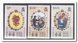 Hong Kong 1981, Postfris MNH, Flowers, Royal House - 1997-... Speciale Bestuurlijke Regio Van China