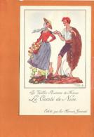 """Illustrateur Jean DROIT - Les Vieilles Provinces De France - """"Le Comté De NICE """" Edité Par Les Farines Jammet - Droit"""