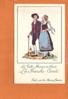 """Illustrateur Jean DROIT - Les Vieilles Provinces De France - """"Le Franche Comté """" Edité Par Les Farines Jammet - Droit"""