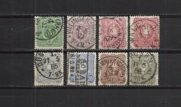 D. Reich 1880 Mi. No 39-44 Used - Usati