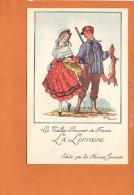 """Illustrateur Jean DROIT - Les Vieilles Provinces De France - """"La Lorraine """" Chasse - Edité Par Les Farines Jammet - Droit"""