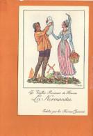 """Illustrateur Jean DROIT - Les Vieilles Provinces De France - """"La Normandie"""" - Edité Par Les Farines Jammet - Droit"""