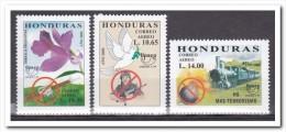 Honduras 2000, Postfris MNH, Flowers, Trains - Honduras