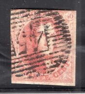 BELGIUM BELGIQUE 1849 Epaulettes #5 USED BOXED WMK - Belgium