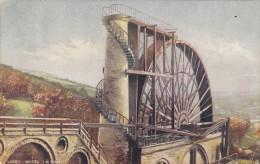 TUCK #1455; ISLE OF MAN, United Kingdom; Laxey Wheel, PU-1905 - Man (Eiland)