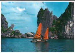 Carte Vietnam (( Halong - Vietnam ) - Viêt-Nam