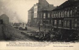 BELGIQUE - ANVERS - ANTWERPEN - Incendie Des Bois (4 Et 5 Septembre 1907) Brand Der Houtstapels - Antwerpen