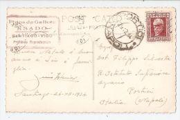 SPAIN - SANTIAGO - FOTO DE GALICIA KSADO - RPPC POSTCARD 1934 - STAMP ( B ) - Santiago De Compostela