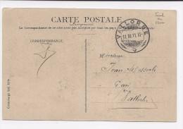 Suisse SCHNAPSZAHL, Cachet Insolite11.XI.11.XI VALLORBE Sur Carte Postale, Curiosité Numérique - Marcophilie