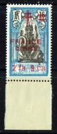 1942  Surcharge «France Libre» Et Valeur «2fa 9ca» Sur 16 Ca  Yv 189 ** MNH Superbe - Indië (1892-1954)