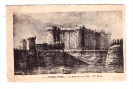 75 Série Ancien Paris N°2 La Bastille Vers 1780 Carte Non Voyagée - France