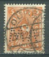 DEUTSCHES REICH 1922-23: Mi 227 / YT 208, PERFIN, O - KOSTENLOSER VERSAND AB 10 EURO - Usati