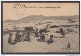 INDOCHINE  CACHET PAK HIN BOUN LAOS +SAVANAKHET 1925 SUR CPA   Réf  6314 - Laos