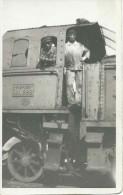 Carte-photo : 2 Mécaniciens Sur Locomotive P.O. - Midi - Entre 1933 Et 1938. - Other