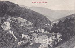 AK Bad Rippoldsau - Stempel Telephon- Und Posthilfsstelle Hotel Hirsch - 1911 (21152) - Bad Rippoldsau - Schapbach
