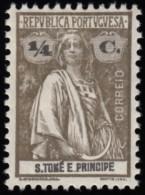 ST. THOMAS & PRINCE ISLAND - Scott #194 Ceres (*) / Mint H Stamp - St. Thomas & Prince