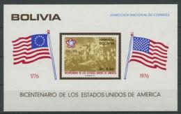 Bolivien 1976 200 Jahre USA Block 66 Postfrisch (C22835) - Bolivien