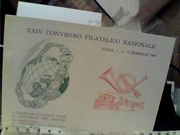 ROMA XXIV CONVEGNO FILATELICO  NAZIONALE 1969  N1969 FH9158 - Bourses & Salons De Collections