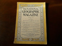 The National Geographic Magazine - August 1929 - Volume LVI - Number 2 - Géographie
