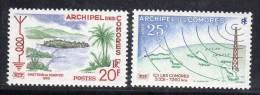 COMORES - 1960 - N° 17/8  ** - Neufs