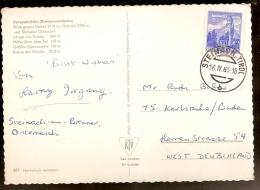 Austria & Bilhete Postal, Eurobruke, Steinach, Tirol, Karsruhe Germany 1965 (34) - 1961-70 Covers