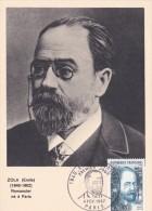 ZOLA Emile (1840-1902) Romancier Né à Paris - 1960-69
