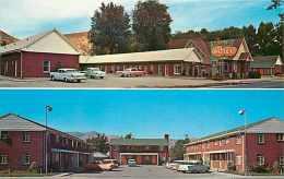215055-Idaho, Pocatello, Bidwell's Motel & Apartments, Multi-View, 50s Cars, Eric J. Seaich By Koppel No 64746 - Pocatello