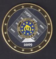 EURO GEANT 10 Ans 1999.2009   70mm. - Monnaies & Billets