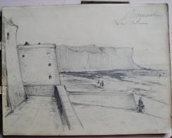GRAND CARNET DE CROQUIS ET DESSINS NORMANDIE - 1903 ET 1904 - Vieux Papiers