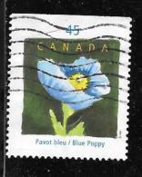 CANADA,  QUEBEC In Flowers:  THE POPPY, # 1638 Yr 1997 USED - 1952-.... Règne D'Elizabeth II