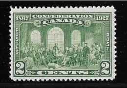 Canada, 1927, # 142 MNH, 60th Anniv. Of Confederation: Fathers - 1911-1935 Règne De George V