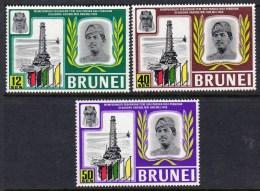 BRUNEI - 1969 OIL WELLS SET (3V) FINE MNH ** SG169-171 - Factories & Industries