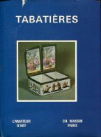 L'amateur D'art Tabatieres  Ed Massin - Books