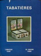 L'amateur D'art Tabatieres  Ed Massin - Livres