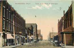 242177-Oklahoma, Muskogee, Third Street, Commercial Center, Paul C Koeber PCK Series No 9926 - Muskogee
