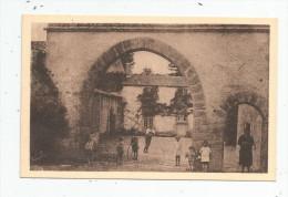 Cp , 85 , LES LUCS SUR BOULOGNE , Le Château De La DAVIERE , Vierge , Ed : Moreau , Enfants - Les Lucs Sur Boulogne